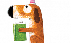 JBM 2021 lezende hond
